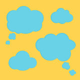 Cloud banner Stock Images
