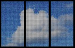 Cloud banners Royalty Free Stock Photography
