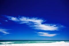Cloud on the beach. Stock Photo