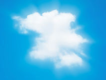 Cloud beam Stock Photography