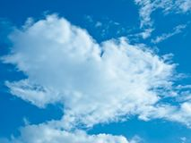 The Cloud with Blue sky Royalty Free Stock Images