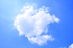 Cloud and blue sky. Beautiful cloud and  blue sky Royalty Free Stock Photography