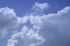 Cloud in blue sky Royalty Free Stock Photos