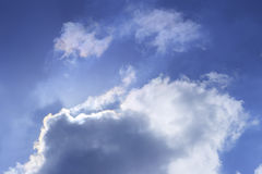 Cloud in blue sky Royalty Free Stock Images