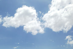 Cloud. Blue sky with cloud Royalty Free Stock Photography