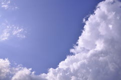 Cloud on blue sky Stock Images