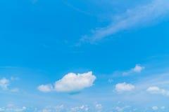 .Cloud in blue sky Stock Photo