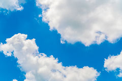 Cloud in blue sky . Stock Photography