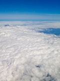 Cloud and blue sky from air plane 2 Royalty Free Stock Image