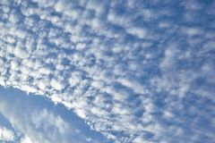 CLOUD ON BLUE SKY royalty free stock photography