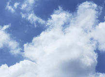 Cloud with blue sky Stock Images