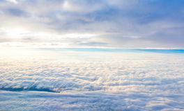 Cloud in blue sky Royalty Free Stock Photo