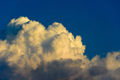 Cloud with Blue Sky. Stock Image