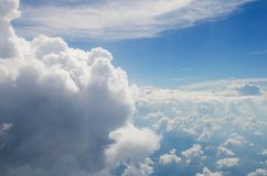 The cloud on the bluevsky stock images