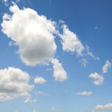 Cloud in blue sky background. Stock Image