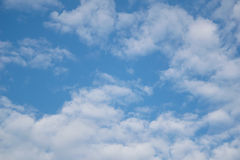 Cloud with blue sky background Stock Image