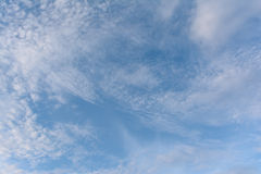 Cloud and blue sky for background. Blue sky and cloud for background texture stock photos
