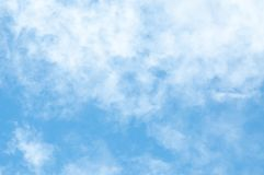 Cloud and blue sky for background textured. Beautiful blue sky stock photography