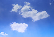 Cloud in blue sky Royalty Free Stock Image