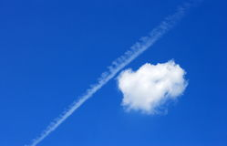 Cloud on blue sky Royalty Free Stock Images