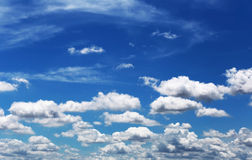 Cloud on blue sky in the daytime. Royalty Free Stock Photos