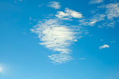 Cloud in blue sky Royalty Free Stock Photography