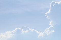 Cloud on blue sky Royalty Free Stock Photo