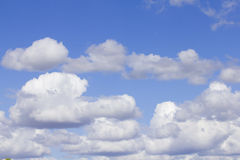 Cloud and blue sky. Blue sky with white cloud Royalty Free Stock Photography