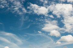 Cloud and blue sky Stock Photography