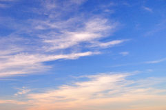 Cloud in the blue sky. Stock Images