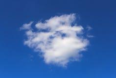 Cloud in a blue sky. White cloud in a blue sky Stock Photos