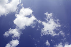 Cloud in blue sky. Stock Images