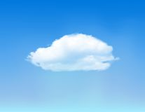 Cloud on blue sky. Royalty Free Stock Image