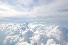The cloud on the bluevsky royalty free stock images