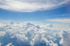 The cloud on the bluevsky royalty free stock photography