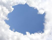 Cloud Border Royalty Free Stock Photos
