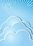 Cloud Brochure Internet Stock Photography