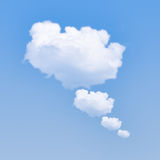 Cloud Bubble Royalty Free Stock Images