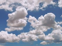 cloud bufiastego Fotografia Royalty Free