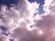 cloud bufiastego błękit nieba Obrazy Royalty Free