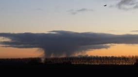 Cloud burst royalty free stock photography