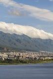 Cloud on Cangshan mountain in Dali city ,Yunnan China Stock Photo