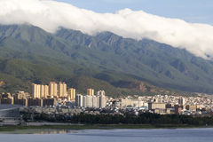 Cloud on Cangshan mountain in Dali city ,Yunnan China Royalty Free Stock Photos