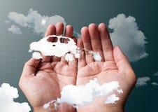 Cloud car Royalty Free Stock Photos