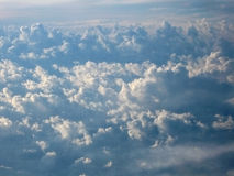 Cloud Carpet Formation Stock Image
