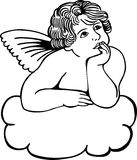 Cloud Cherub Royalty Free Stock Photo