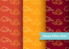 Cloud chinese pattern Stock Photo