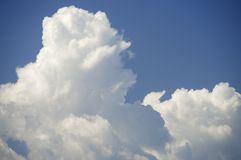 cloud chmurnego tło 1 niebo Fotografia Royalty Free