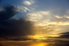 cloud chmurnego tło 1 niebo Obraz Stock