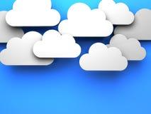 cloud chmurnego tło 1 niebo Zdjęcia Stock